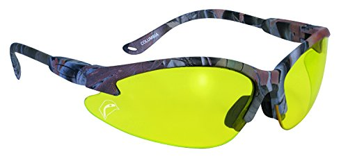 SSP Eyewear BULLCAMO EY A/F Bullchuckar Sportsman Glasses with Camo Frames and European Yellow Anti-Fog Lenses, - Sunglasses Marcus