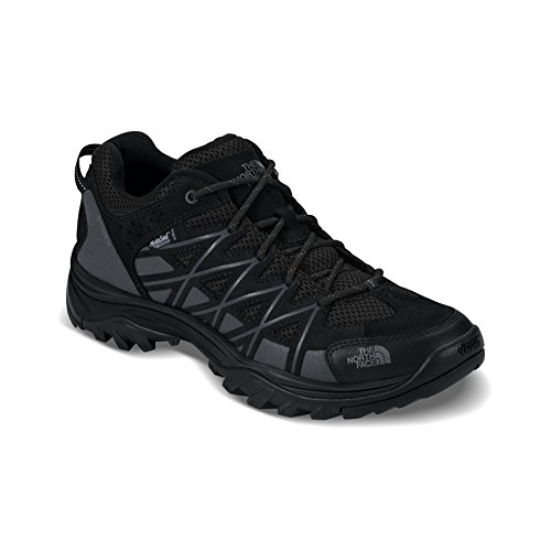 The North Face Storm III Waterproof Hiking Shoe - Men's TNF Black/Phantom Grey 12.5