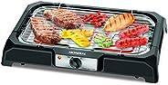 Churrasqueira Elétrica Mondial, Grand Steak & Grill, 127V, Preto, 2000W - C