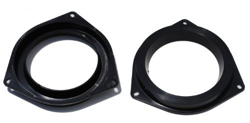 "Mosuch 6.5"" Plastic Black Speaker Adapter. Fitted For Toyota 4Runner, Avalon, Celica, Corolla, Echo, Highlander, Matrix, Prius, RAV, Sequoia, Sienna, Solara, Tacoma, Tundra, Venza, Yaris"