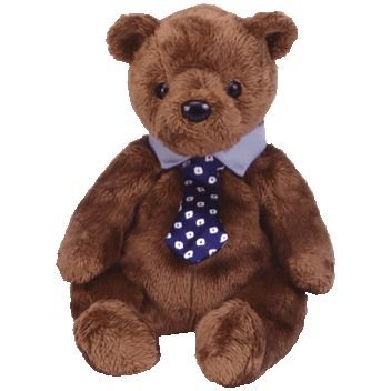 (Ty Beanie Babies - Hero the Father's Day Bear)