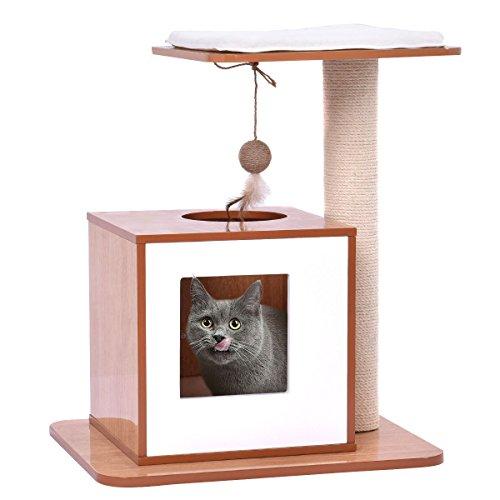 Wood Cat Condo (Tangkula 21