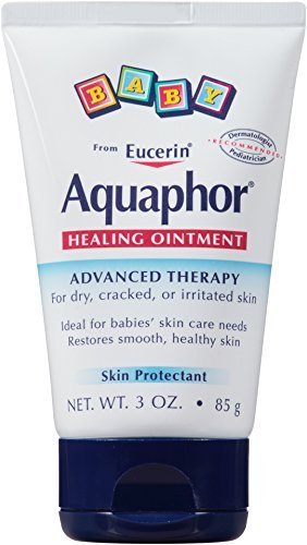 Aquaphor Baby Healing Ointment, Diaper Rash and Dry Skin Protectant, 3 Ounce (Pack of 9) Aquaphor-sjne by Aquaphor