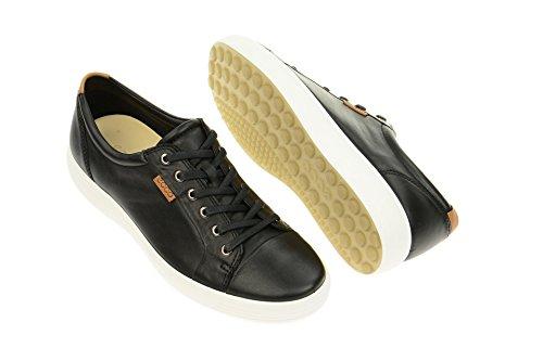 Ecco ECCO SOFT 7 MEN'S - zapatilla deportiva de cuero hombre schwarz