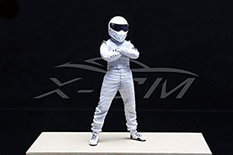 Top Gear The Stig Figure 1:18 (White) + SMALL GIFT!!!! - Parts Unlimited Snowmobile