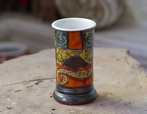 Pottery Tumbler - Ceramic Dinner Mug - Earthen Mug - Handmade Water Glass - Pottery Cup - Tea Cup - Ceramic Tumbler - Small Vase - Danko ()