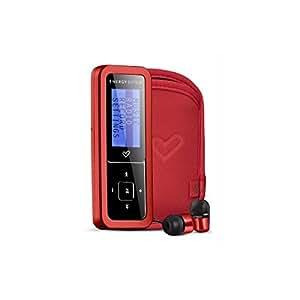 Energy Sistem Urban 1602 - Reproductor de MP3 (2 GB, radio, altavoces incorporados, control de volumen) rojo