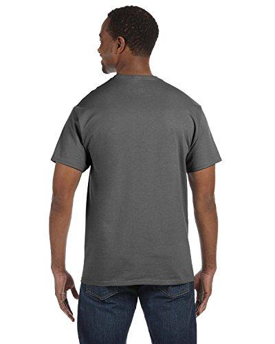 Gris Fumée Homme shirt T Hanes wqT1pHAc