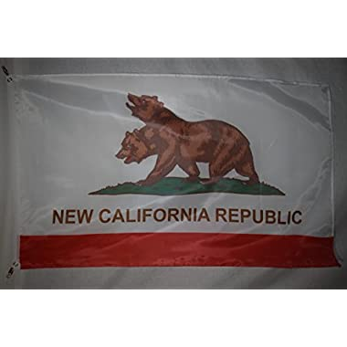 New California Republic Flag 3x5 Feet