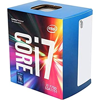 Intel Core i7-7700 Desktop Processor 4 Cores up to 4.2 GHz  LGA 1151 100/200 Series 65W
