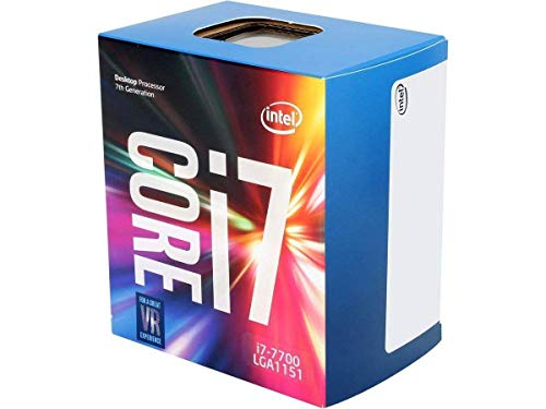 Intel Core i7-7700 Desktop Processor 4 Cores up to 4.2 GHz  LGA 1151 100/200 Series 65W (Best I7 7700k Motherboard)