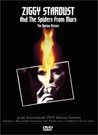 DVD : David Bowie - Ziggy Stardust and the Spiders from Mars (Remastered)