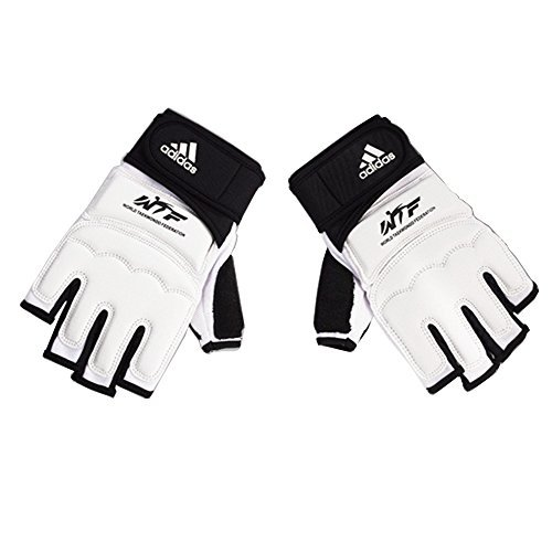 Adidas-Taekwondo-Hand-Protector-Hand-Guard-Hand-Gear-Gloves-TKD-WTF-Approved-S-to-XL-1S67inch17cm