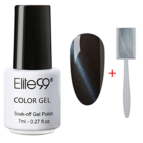 Elite99 Soak Off 3D Magnetic Cat Eye Gel Polish UV LED Nail