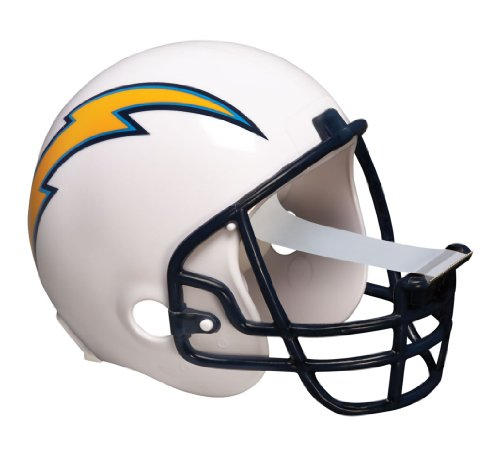 Scotch Magic Tape Dispenser, San Diego Chargers Football Helmet with 1 Roll of 3/4 x 350 Inches Tape