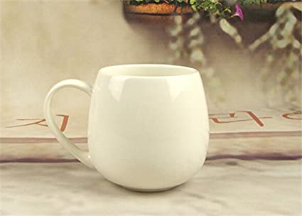 82ffa6af3b3 Buy New White Porcelain Mugs and Cups, Plain White Ceramic Drinking ...