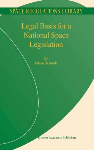 Legal Basis for a National Space Legislation (Space Regulations Library)