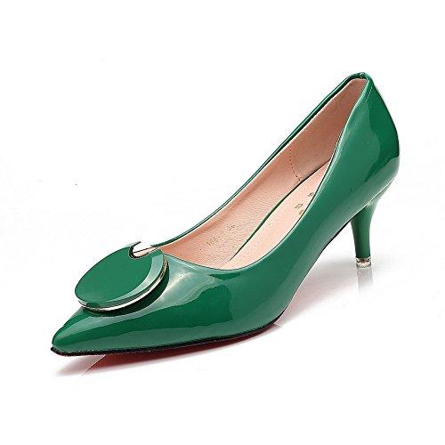 1to9mmsg00008 Verde Mujer Cuña Con Sandalias gwxgf