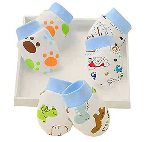 IMBSB Gants bébé nouveau-né, gants anti-grippage pour bébé