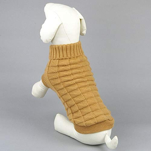 Warm Dog Clothes - Warm Dog Cloth Pet Clothing Puppy Sweater Coat Outfit Breed Costume - Bounder Firedog Andiron Chase Pawl Frump Cad Domestic Detent - 1PCs]()