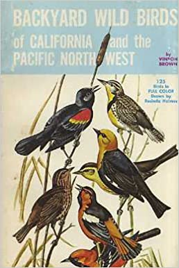 Attirant Backyard Wild Birds Of California And The Pacific Northwest: Vinson Brown,  Rosinda Holmes: Amazon.com: Books