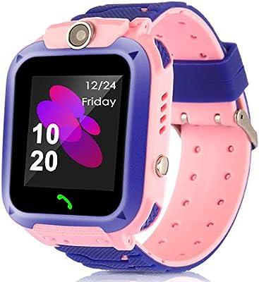 Smartwatch para niños, rastreador de GPS a prueba de agua ...