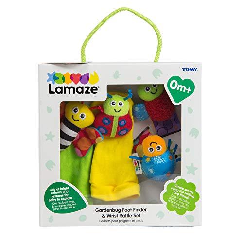(Lamaze Gardenbug Footfinder & Wrist Rattle Set)