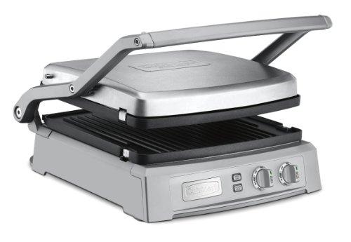 Cuisinart GR-150 Griddler Deluxe, Brushed Stainless