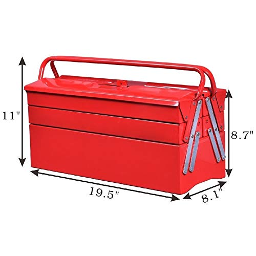 Tool Box Portable Cantilever Storage Garage Trays Hold Coat Paint by Sgood (Image #3)