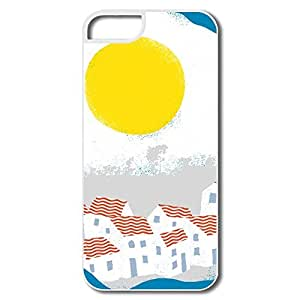 PTCY IPhone 5/5s Customize Cool Sunrise House