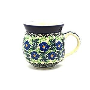 Polish Pottery Mug – 11 oz. Bubble – Sweet Violet