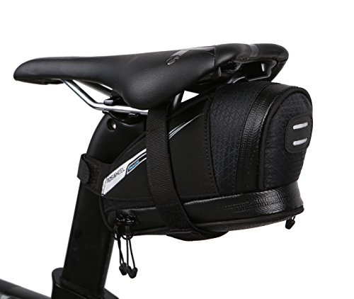 Roswheel 131432L Ultralight 0.6L Bike Saddle Bag Bicycle Under Seat Pouch Cycling Wedge Pack for Road Bike by Roswheel