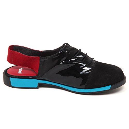 Nero Red E5708 Scarpe Shoe Woman rosso without Camper black Sandalo Box Donna 8ZvwdXq0