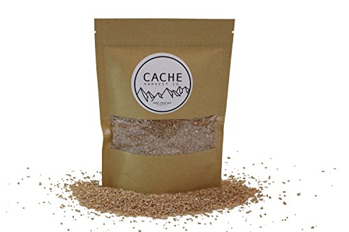 Non-GMO Organic Cracked Wheat | 100% Organic | Hard Red Winter Wheat | The Best Wheat In The World | Grown in the Rocky Mountains | Resealable Packages | Cache Harvest Co. Premium (Cracked Flour Wheat)