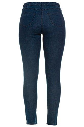 GINA_LAURA Damen | Jeggings Julia | knöchellang | Größe 36-50 | schmales Bein, normale Bundhöhe | Stretch-Denim | blue 100 711228 94-100