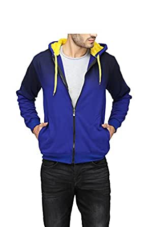 High Hill Full Sleeve Zipper Pullover Hoodie | Thick Cotton Winter Sweatshirt for Men & Boy