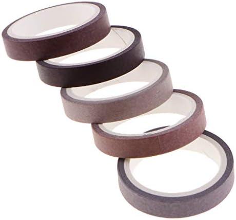 飾りテープ 和紙テープ マスキングテープ 装飾的な テープ DIY 装飾テープ 全6種類 - C