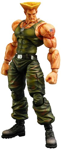 Square Enix Street Fighter IV Guile Play Arts Kai Action Figure