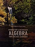 Introductory and Intermediate Algebra Custom Cuesta College, Blitzer, 1256753068