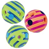 Toysmith Mini Wiggly Giggly Balls - Set of 3