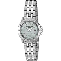 Raymond Weil 5399-ST-00995 Tango Steel Mother-Of-Pearl Diamond Crystal Dial Women's Watch
