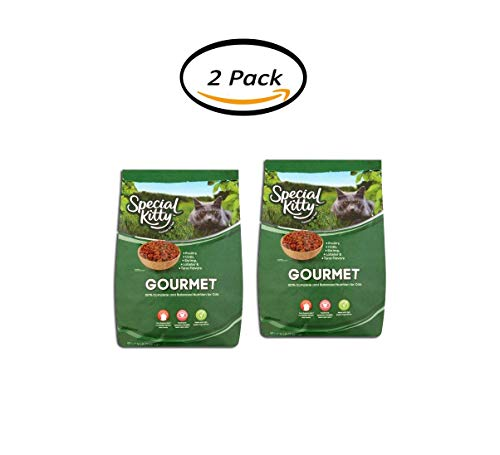 PACK OF 2 - Special Kitty Gourmet Formula Dry Cat Food, 16 Lb