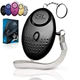 Personal Alarm Siren Song - 130dB Safesound Personal Alarms for Women Keychain with LED Light, Emergency Self Defense for Kids & Elderly. Security Safe Sound Rape Whistle Safety Siren by SLFORCE