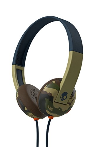 Skullcandy Uproar On-ear Headphones with Built-In Mic and Remote, Camo