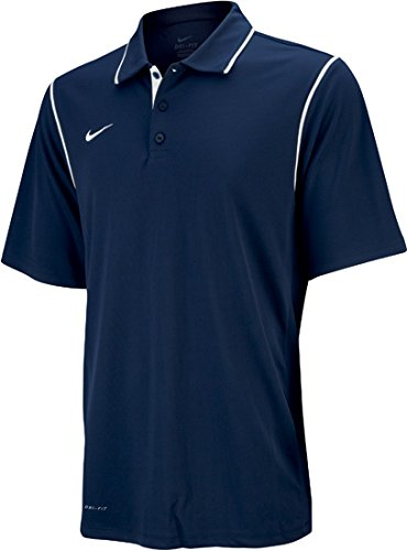 Nike Gung-Ho Mens Polo (Large, Navy/White)