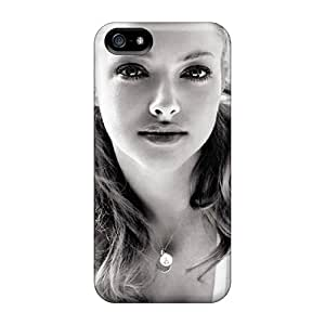 Beautiful Amanda Seyfried Special cell phone carrying shells Perfect Design Abstact Iphone5 iphone 5s iphone 5