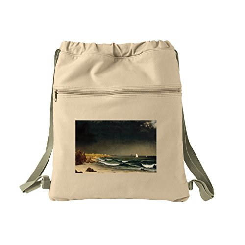 Approaching Storm Newport (Mj Heade) Canvas Dyed Sack Backpack Bag ()