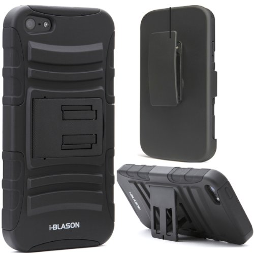 i-Blason Prime Series Dual Layer Holster Case for iPhone 5C