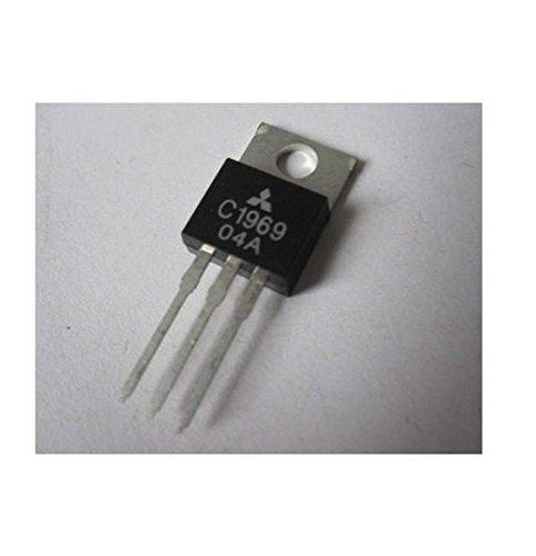 Quickbuying 10PCS 2SC1969 C1969 TO-220 RF Power Transistor EPITAX ()
