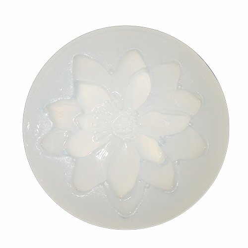 - Lotus Flower Shape Polymer Clay Silicone Mold,Crafting, Resin Epoxy,Jewelry Pendant Earrings Making, DIY Mobile Phone Decoration Tools,Semi-Transparent